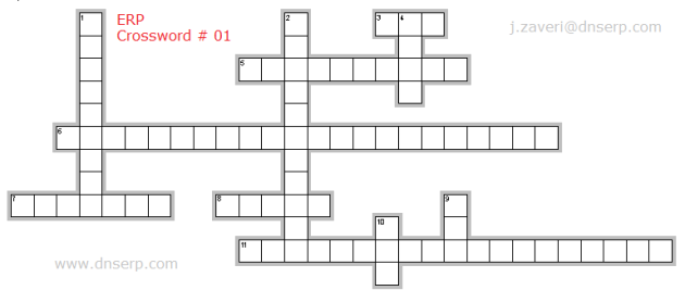 Crossword Puzzle ERP